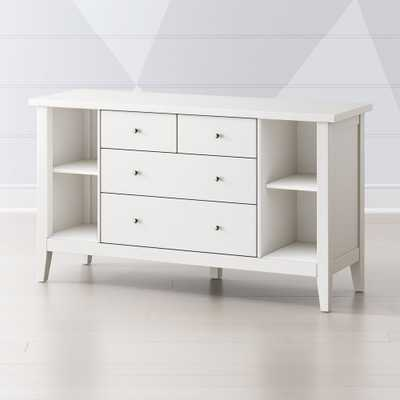 Kids Midway Classic White Dresser - Crate and Barrel