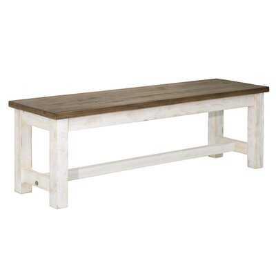 Coonrod Wood Bench - Wayfair