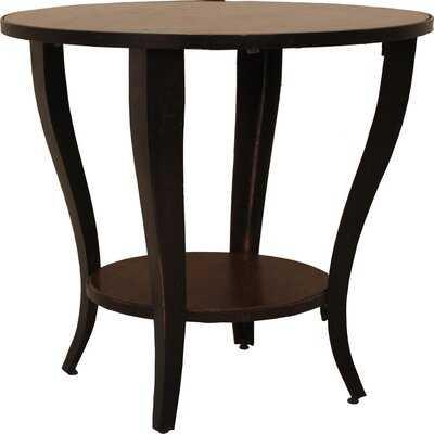 Saladino Round End Table - Wayfair