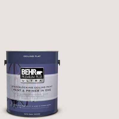 BEHR Premium Plus Ultra 1 gal. #PPU18-8 Painter's White Interior Paint and Primer in One - Home Depot