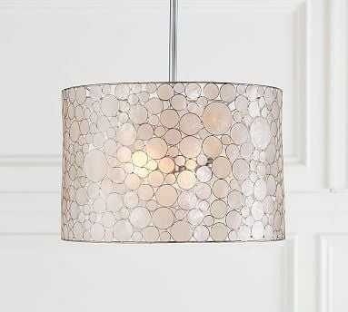 Marina Drum Pendant - Pottery Barn