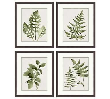 Watercolor Leaf - Set of 4 - Pottery Barn