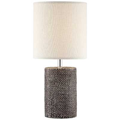 """Lite Source Dustin 17 3/4"""" High Dark Brown Accent Table Lamp - Style # 69R36 - Lamps Plus"""