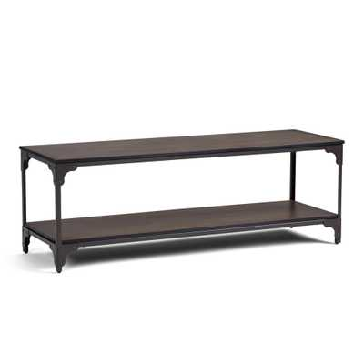 Nantucket Walnut Brown TV Stand - Home Depot
