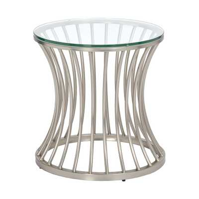 Accent Table Silver, Nickle - Target