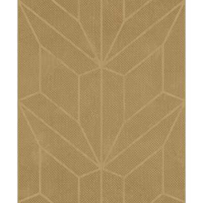 York Wallcoverings Hammered Diamond Inlay Wallpaper, Gold - Home Depot