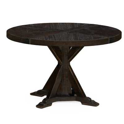 Circular Solid Wood Dining Table - Wayfair