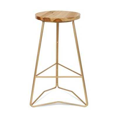 "West Bridgewater Backless 24"" Bar Stool - AllModern"