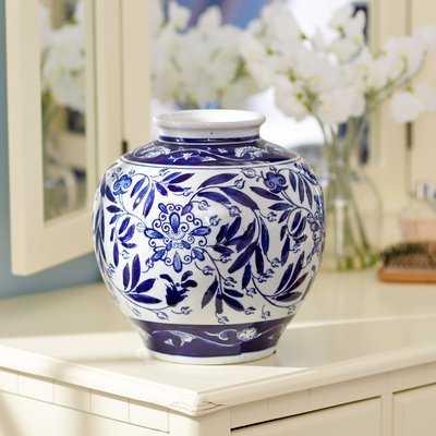 Trevor Round Vase - Wayfair