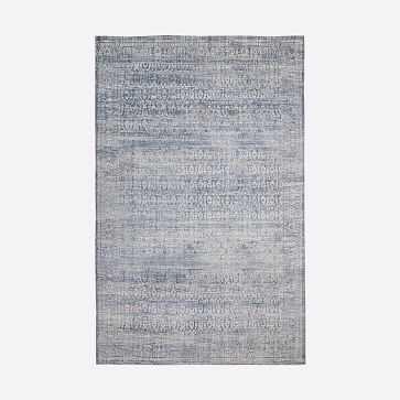 Azura Rug, Indigo, 9'x12' - West Elm