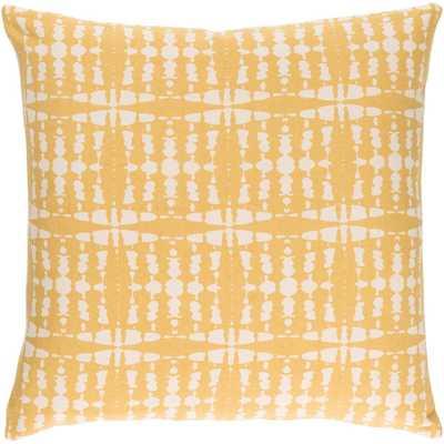 Ritu Poly Euro Pillow, Yellows/Golds - Home Depot