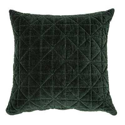 Worsham Velvet Throw Pillow - Wayfair