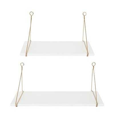 Lalonde 2 Piece Wall Shelf Set - AllModern