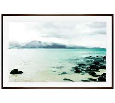 "Sea of Love Framed Print by Lupen Grainne, 28x42"", Wood Gallery Frame, Espresso, Mat - Pottery Barn"