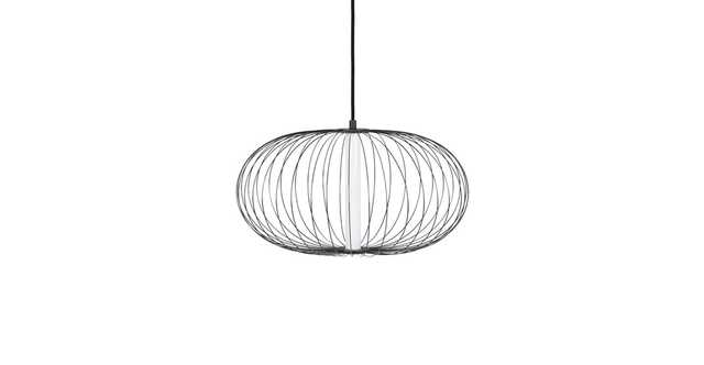 Jupiter Black Small Pendant Lamp - Article