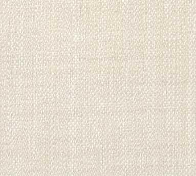 Fabric by the Yard - Sunbrella(R) Performance Sahara Weave Ivory - Pottery Barn