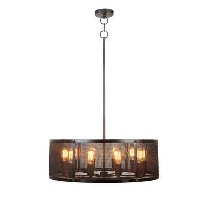 Gibrilla 10-Light Drum Chandelier - Wayfair