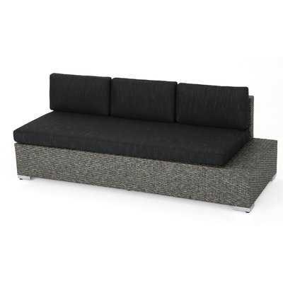 Furst Patio Sofa with Cushion - Wayfair