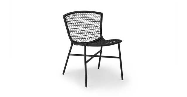 Sala Graphite Dining Chair, pair - Article
