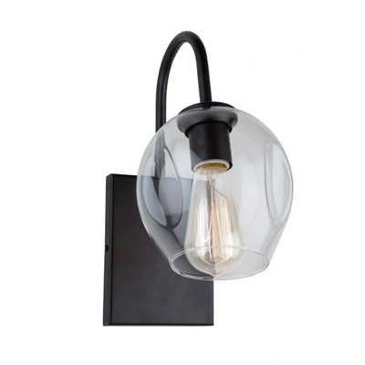 ARTCRAFT 1-Light Black Sconce - Home Depot