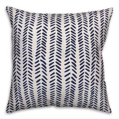 Flavio Modern Herringbone Throw Pillow - Wayfair