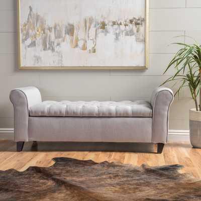 Havelock Upholstered Storage Bench - Wayfair