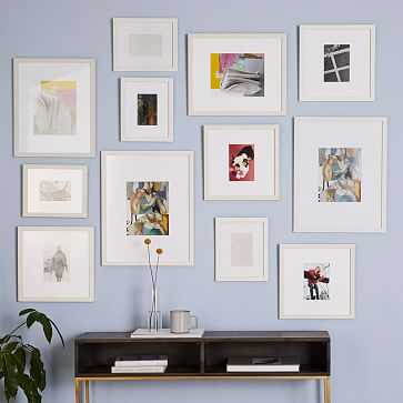 Gallery Frames, White, Set of 12 - West Elm