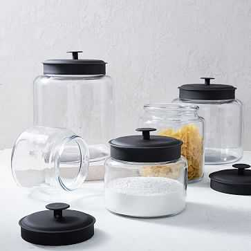 Glass Kitchen Storage, 64oz - West Elm