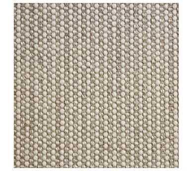 Fibreworks(R) Custom Wool Jute Rug, 9 x 2', Ivory Multi - Pottery Barn