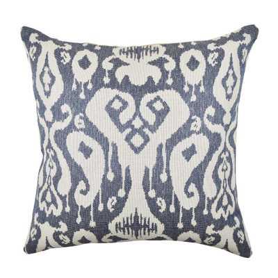 20 in. x 20 in. Modern Navy (Blue) Pillow - Home Depot