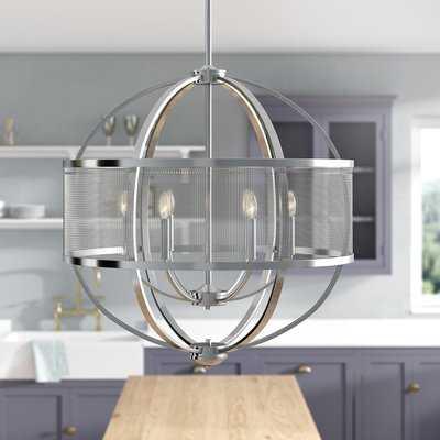 Earlene 6 - Light Unique / Statement Globe Chandelier - AllModern