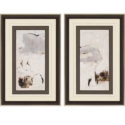 'Painter Link' 2 Piece Framed Print Set - Wayfair