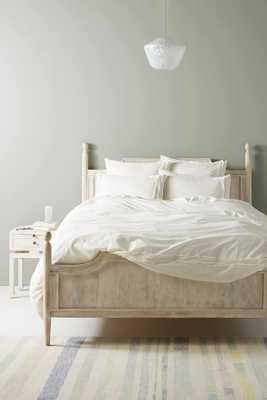 Joey Washed Percale Duvet Set queen - Anthropologie
