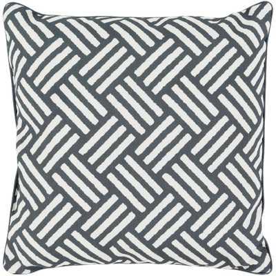 Bonnie Poly Euro Pillow, Black - Home Depot