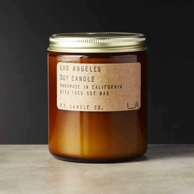 Los Angeles Soy Candle 7.2 oz - CB2