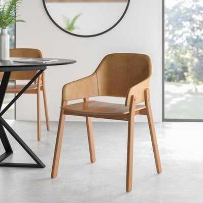 Clutch Leather Armchair - AllModern