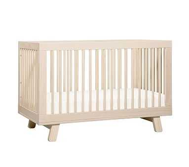 Babyletto Hudson 3-in-1 Crib, Washed Natural, Standard UPS Delivery - Pottery Barn Kids