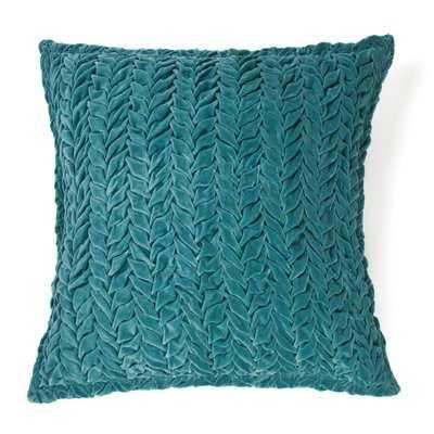 Allie 100% Cotton Velvet Throw Pillow - Wayfair