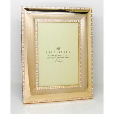 Elegance Picture Frame Gold Plated 4X6 in. - Home Depot