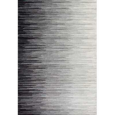 Colunga Black/Gray Area Rug - AllModern