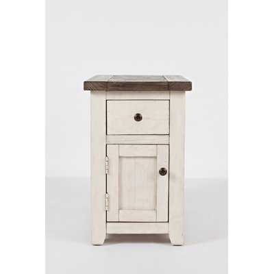Westhoff Solid Wood End Table with Storage - Birch Lane