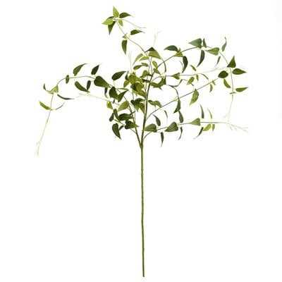 Artificial Clematis Leaves Spray Branch [S/O 3] - Wayfair