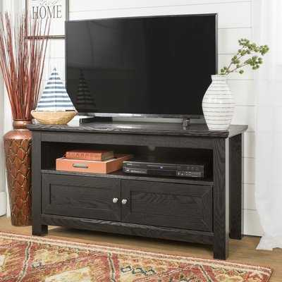 Wood Cabinet TV Stand for TVs up to 43 - Wayfair