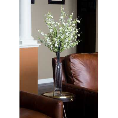 Cherry Blossoms Silk Floral Arrangements in Vase - AllModern