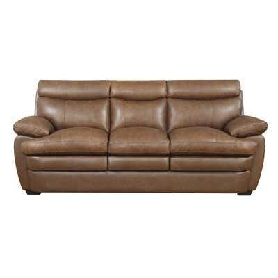 Millwood Leather Sofa - Wayfair