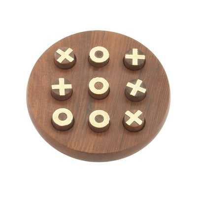 Wood Tic Tac Toe - Wayfair