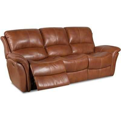 Czapla Leather Reclining Sofa - Wayfair