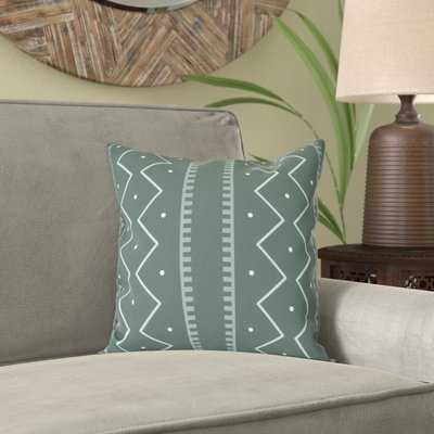 Lassiter Mudcloth Geometric Outdoor Throw Pillow - AllModern