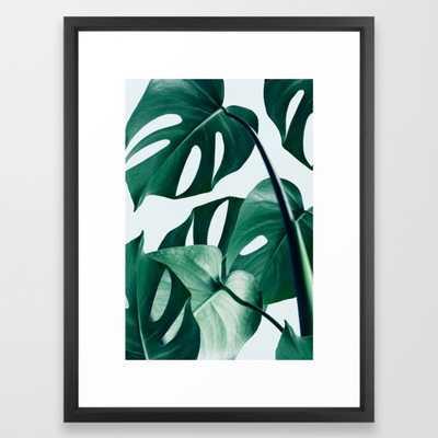 Monstera #society6 #artprints #buyart Framed Art Print by 83Oranges - Society6