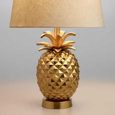 Brass Pineapple Accent Lamp Base - Metal by World Market - World Market/Cost Plus